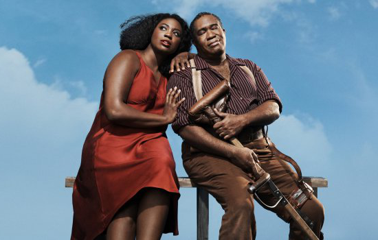 Eric Owens and Angel Blue as Porgy and Bess