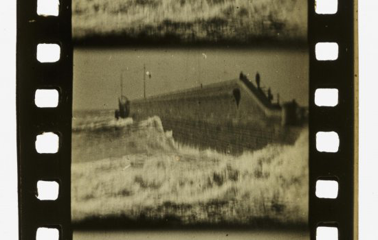 Single 35mm frame from Rough Sea at Dover