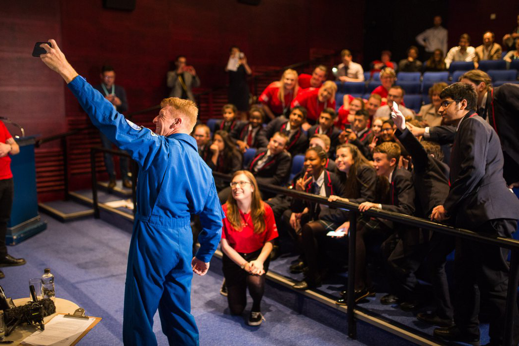 Q&A event with astronaut Tim Peake in 杂物西兰花电影院