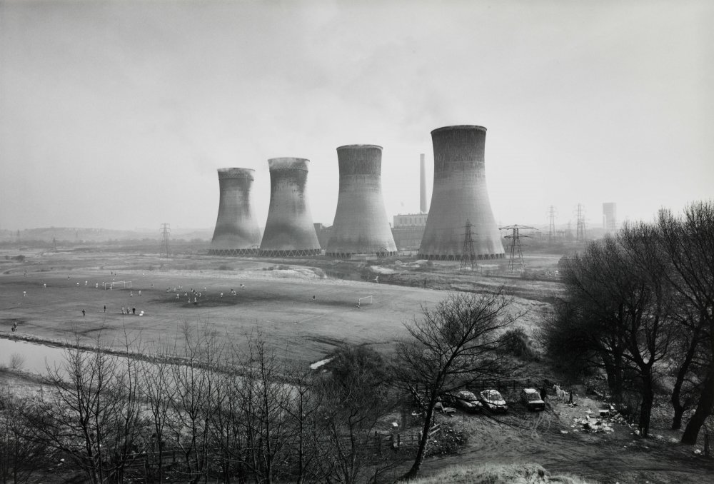 Agecroft Power Station, Salford, 1983 by 约翰·戴维斯