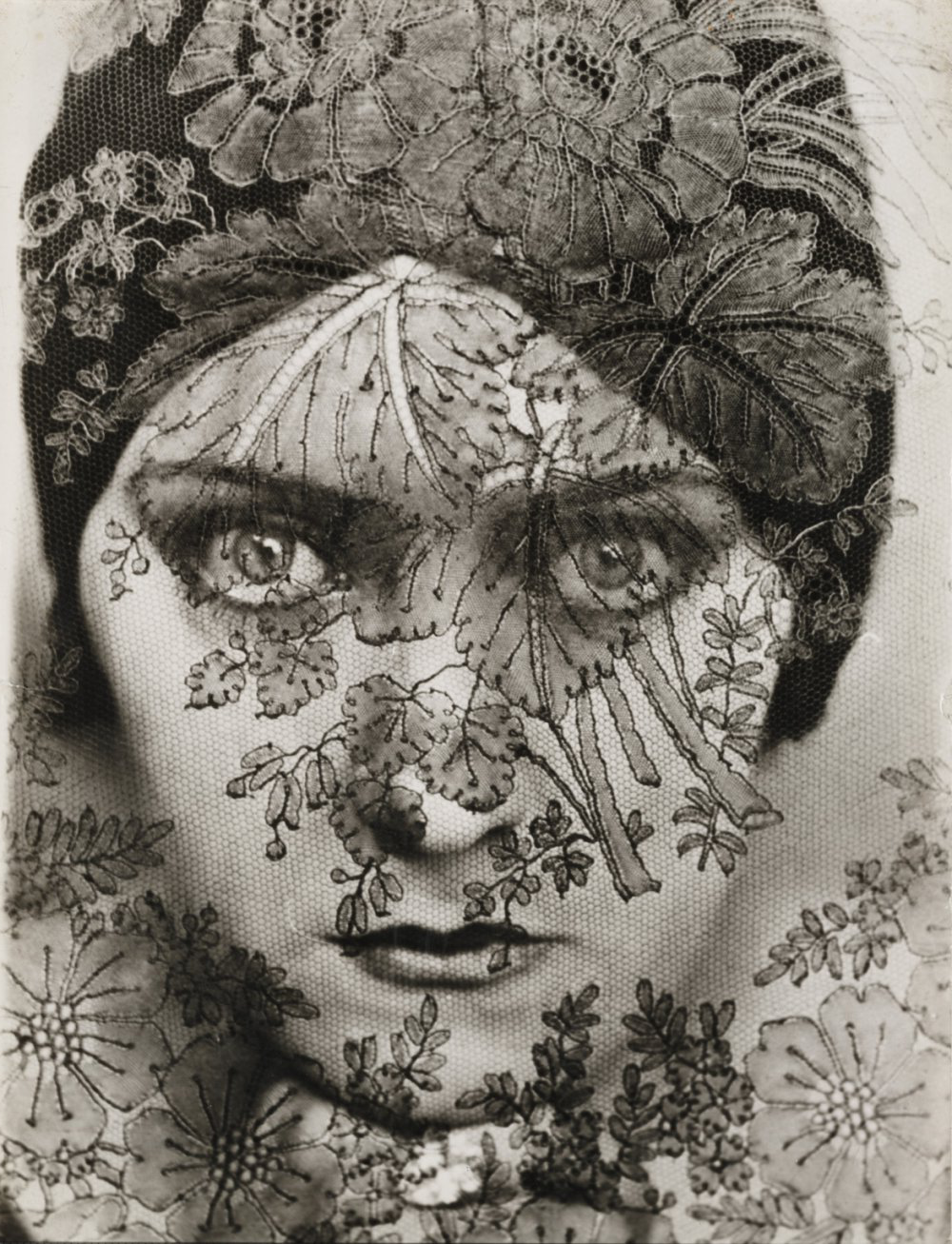 Gloria Swanson (lace), 1924, by 爱德华·斯泰肯